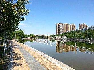 Karamay - Image: Karamay river