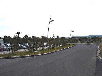 Karasjok - From the centre of Karasjok, July 2005