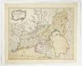 Karta över Viborg med angränsande provinser, samt Ladoga. Från 1700-talet - Skoklosters slott - 97951.tif