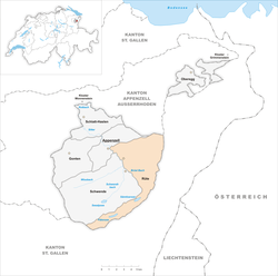Location of Rüte
