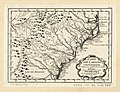 Karte von Carolina und Georgien zur allgemeinen Geschichte der Reisen. LOC 74692775.jpg