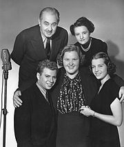 fc0ee43e89a16b The Aldriches and Kate Smith as the characters premiered on her radio  program in September 1938.