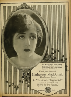 <i>Passions Playground</i> 1920 film by Thomas A. Barry