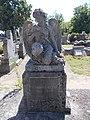 Katholischer Friedhof, Engel Statue, 2021 Kiskőrös.jpg