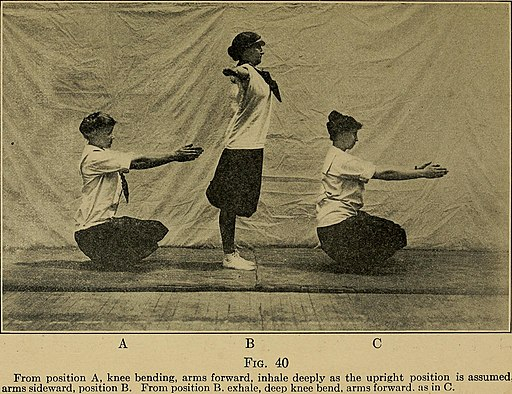 Keeping physically fit; common-sense exercises for the whole family (1916) (14758663666)