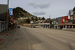 Keystone South Dakota business district 3-3-2012.jpg