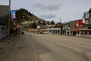 Keystone, South Dakota - Business district in Keystone