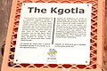 Kgotla at the national museum of Botswana(Provides information about the kgotla).jpg