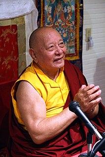 Khenpo Karthar Rinpoche Buddhist lama
