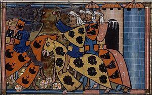 Apamea (Phrygia) - Battle of Kibitos, 13C manuscript