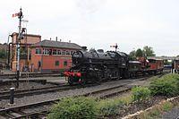 Kidderminster Town - 43106 arriving with Sir Haydn.jpg