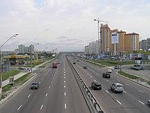 基輔-地方運輸-Kiew prospBazhanaOst
