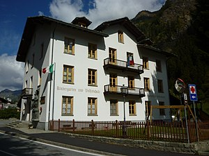 Gressoney-Saint-Jean - Kindergarten and elementary school in Gressoney.