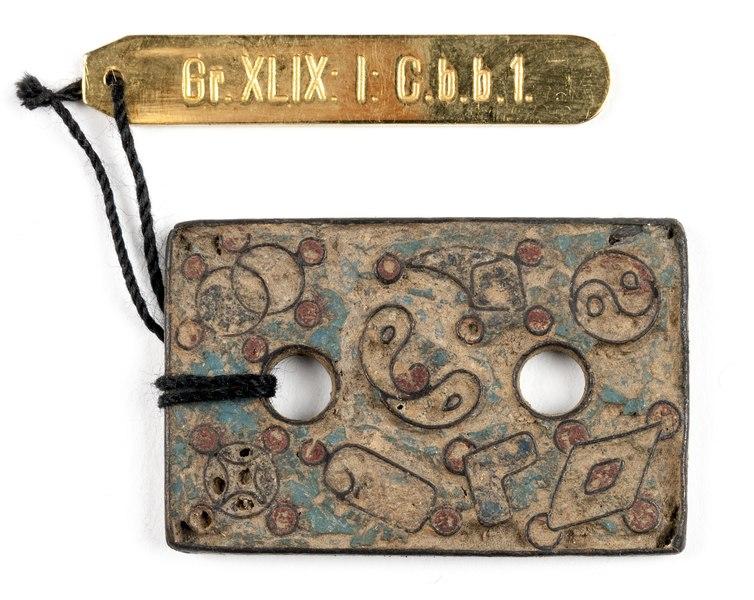 File:Kinesiskt bältbeslag i brons med yin yang - Hallwylska museet - 100118.tif