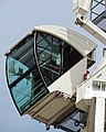 King's Cross Central development tower cranes, London, England 06 crane cabin.jpg