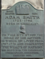 Kirkcaldy High Street Adam Smith Plaque.png