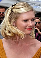Dunst at the 2011 Cannes Film Festival.