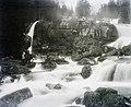 Kis-vízesés a Tar-patakon. Fortepan 95171.jpg