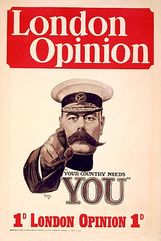 London Opinion - Image: Kitchener poster by Alfred Leete