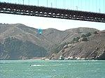 Kitesurfer under the Bridge (2874480383).jpg
