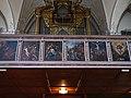 Kitzbühel. Pfarrkirche, Westempore Mittelschiff, Passion Christi (Veit Rabl, 1664).jpg