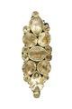 Klädsmycke av guld och bergkristall från 1670 cirka - Livrustkammaren - 97922.tif
