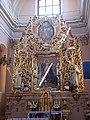 Klasztor kamedułów w Wigrach - ołtarz - obraz Matki Bożej 4.jpg