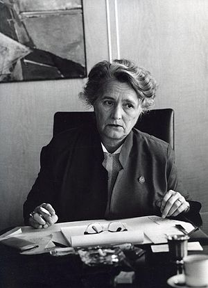 Marga Klompé - Marga Klompé in 1970