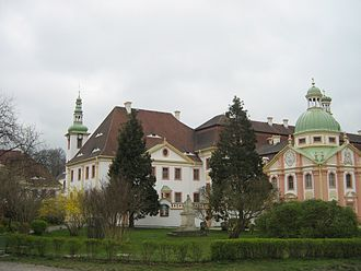 St. Marienthal Abbey - Church and abbey