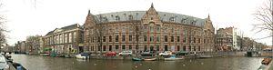 Kloveniersburgwal, Amsterdam - Kloveniersburgwal, westside.