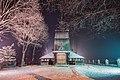 Kościół św. Jana Apostoła i Ewangelisty na Harendzie zimą, front.jpg