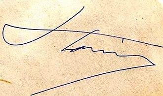 Zoltán Kocsis - Image: Kocsis Zoltán autogram