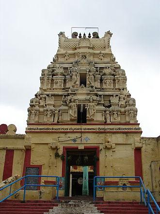 Chunchanakatte Falls - Kodanda Rama temple at Chunchankatte Falls