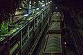 Kohlezug im Westhafen am Kraftwerk Moabit bei Nacht.jpg