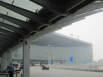 Netaji Subhas Chandra Bose International Airport - Outside view of the airport