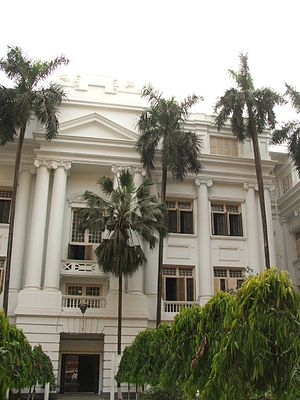 University of Calcutta - Ashutosh Building at the College Street campus