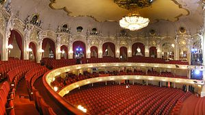 Nicole Chevalier - Interior of Komische Oper Berlin, where the soprano has worked from 2012