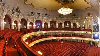 Komische Oper Berlin - Interior of Komische Oper Berlin