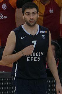 Kostas Vasileiadis Greek professional basketball player