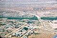 Kreuzung der Hauptstraßen C18 und C15 bei Gochas, Namibia (2017).jpg