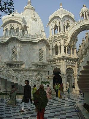 Krishna-Balaram-Mandir (ISKCON-Temple) in Vrin...