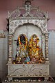 Krishna and Radha - Idols on Marble Throne - Radha-Krishna Mandir - Narna - Howrah 2014-04-14 0283.JPG