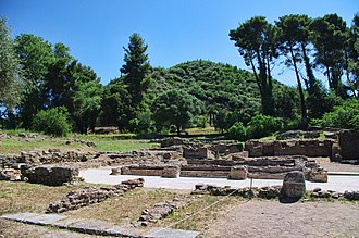 Olympia, Greece - Kronios baths or north baths