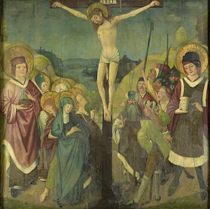 Crucifixion with Saints Cosmas and Damian