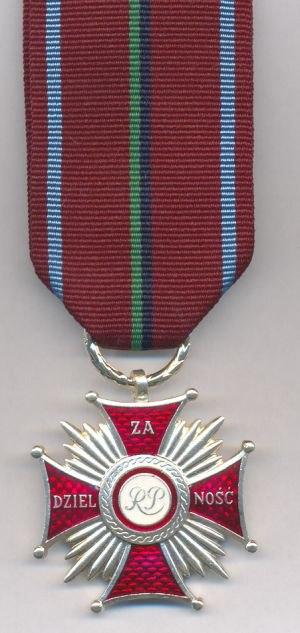 Cross of Merit for Bravery (Poland) - Image: Krzyz zaslugi za dzielnosc, Poland 106249787