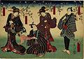 Kunisada Utagawa. Actors in Open Air.jpg