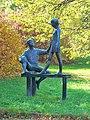 Kunst in Chemnitz - Am Schwebebalken.JPG