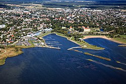 Aerial view of Kuressaare