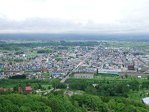 Kutchan, Hokkaido - Kutchan as seen from Asahigaoka Park