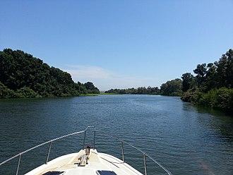 Portuguese Angola - Kwanza River